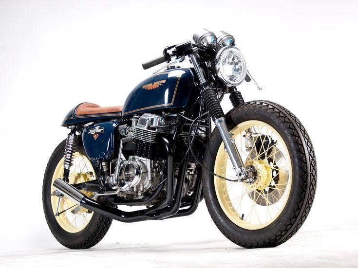 Cafe Racer Design — Cafe Racer Design Source Honda CB750...