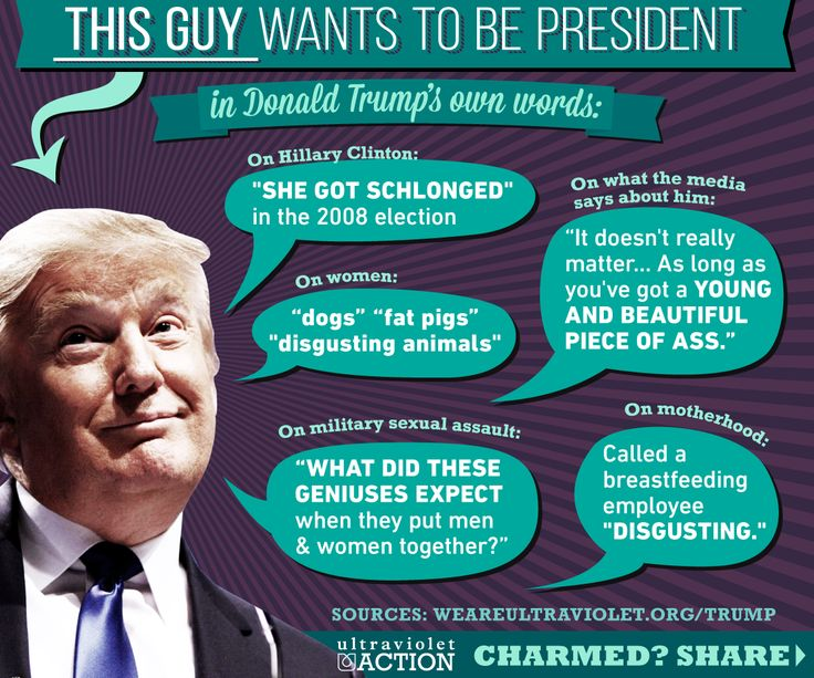 #DonaldTrump the master when it comes to women #MovieTVTechGeeks #2016Election