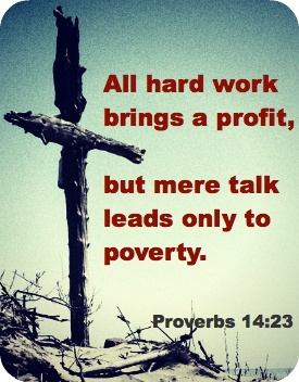Proverbs 14:23 / BIBLE IN MY LANGUAGE