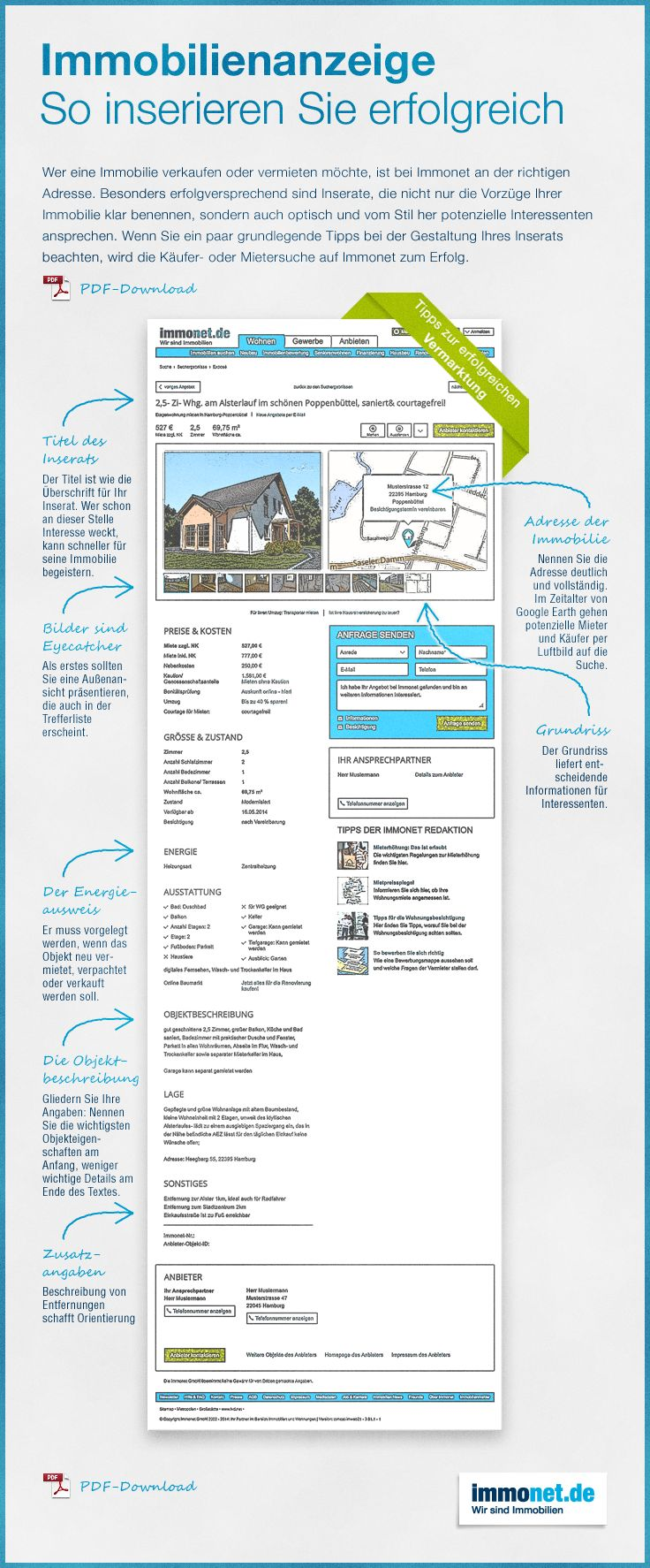Hier http://www.immonet.de/service/checkliste-immobilienanzeige.html finden Sie mehr Infos http://www.immonet.de/service/checkliste-immobilienanzeige.html Checkliste, Infografik, Immobilie vermarkten, Haus verkaufen, Wohnung verkaufen, vermieten, Tipps, Immobilienanzeige, Inserat, Käufer- und Mietersuche, #immonet hat die Tipps