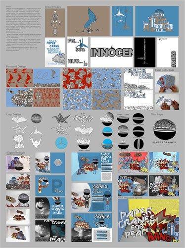 NCEA level three Design - folio board one