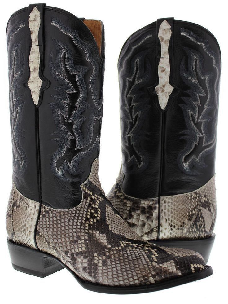 49 best Men's Cowboy Exotic Roper Boots images on Pinterest