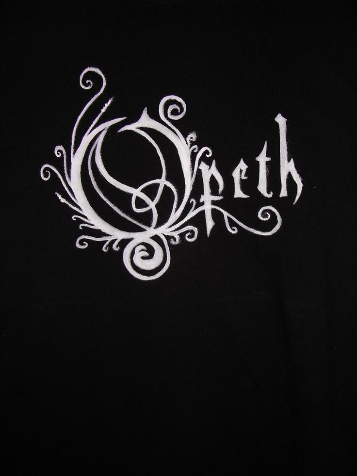Opeth by Aniou / www.filobuttonki.blogspot.com