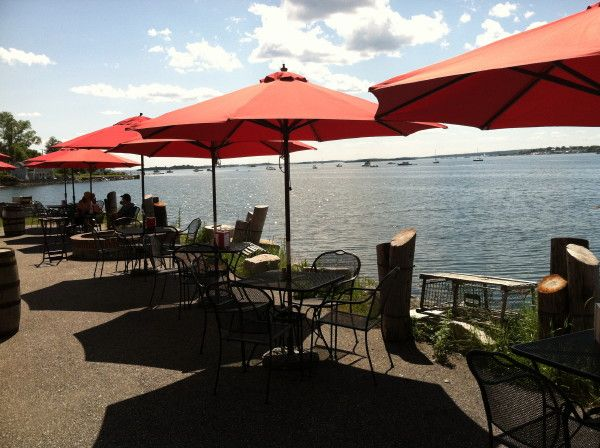 ESTES LOBSTER HOUSE ~ Harpswell Neck, ME ~ The sleepy Harpswell peninsula is just a half-hour's detour off I-295. Estes Lobster House is surrounded by water—Harpswell Sound and Potts Harbor—and has outdoor seating and a fire pit. The tables are occupied by families of Harpswellers, who know their way around a crustacean: watch that 10-year-old rip open a claw bare-handed. 1906 Harpswell Neck Rd, Harpswell, ME 04079 (207) 833-6340