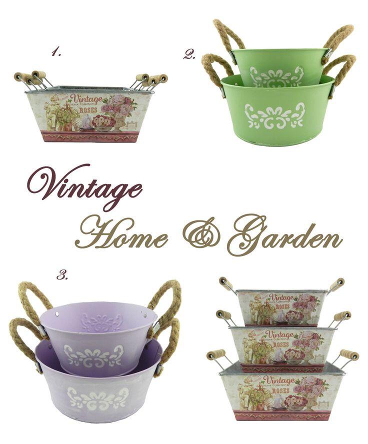 Μεταλλικά πανέρια σε vintage στυλ. 1. Σετ που αποτελείται από 3 μεταλλικά πανέρια, με vintage μοτίφ σε #dusty #rose αποχρώσεις Κωδ:04120081 | Τιμή χωρίς ΦΠΑ 13,74 ευρώ 2. Σετ που αποτελείται από 2 μεταλλικά πανέρια σε παστέλ πράσινο χρώμα με λευκό #vintage σχέδιο Κωδ:04120070 | Τιμή χωρίς ΦΠΑ 5,52 ευρώ 3. Σετ που αποτελείται από 2 μεταλλικά πανέρια, σε λιλά χρώμα με λευκό vintage σχέδιο Κωδ:04120069 | Τιμή χωρίς ΦΠΑ 5,52 ευρώ #kitchen #idea #diy #home
