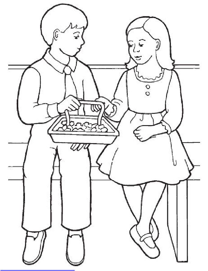 sacrament coloring pages for kids - photo#1