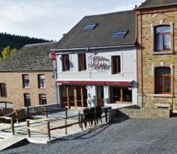 "Restaurant ""Le Relais"" in Vencimont (Gedinne), Namur Ardennes, South Belgium."