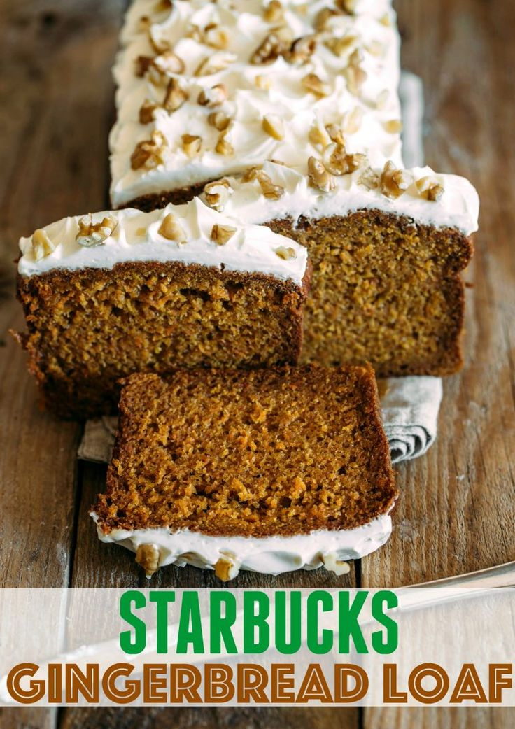 Copycat Starbucks Gingerbread Loaf Recipe - (thecountrycook)