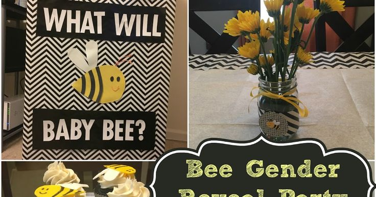 "Sarah Lynn's Sweets: What Will Baby ""Bee"" Gender Reveal Party"