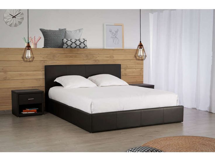 25 melhores ideias de lit coffre no pinterest. Black Bedroom Furniture Sets. Home Design Ideas
