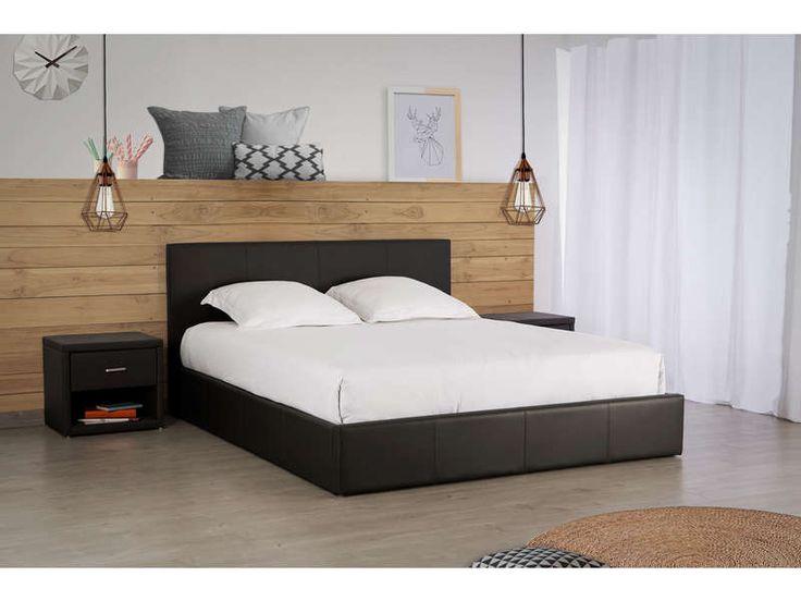 25 melhores ideias de lit coffre no pinterest. Black Bedroom Furniture Sets. Home Design Ideas