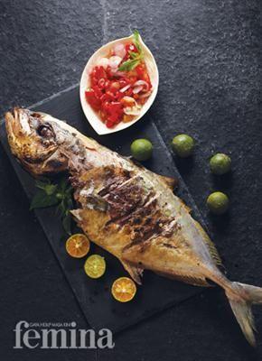 Ikan Bobara Bakar