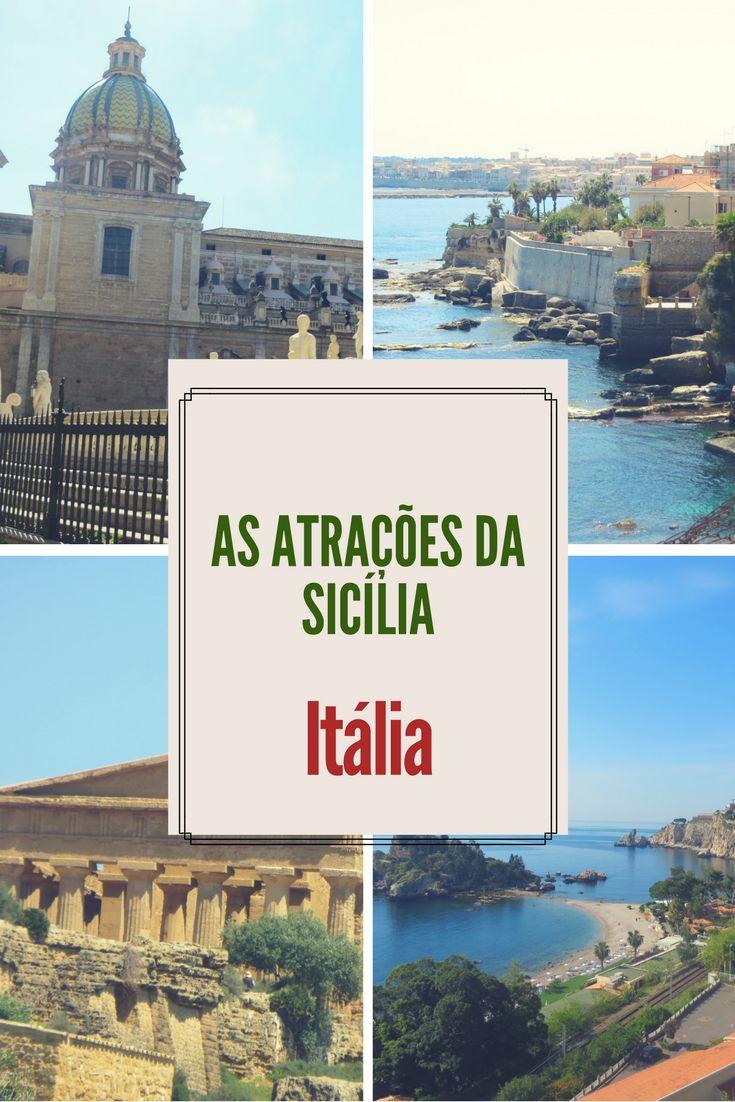 A Sicília é uma ilha no sul da Itália muito rica em história, além de possuir várias cidades charmosas 28 praias lindíssimas. Mas se você não puder conhecê-la durante o verão, na alta temporada, não deixe de ir nos demais meses do ano, que ainda valerá a pena!