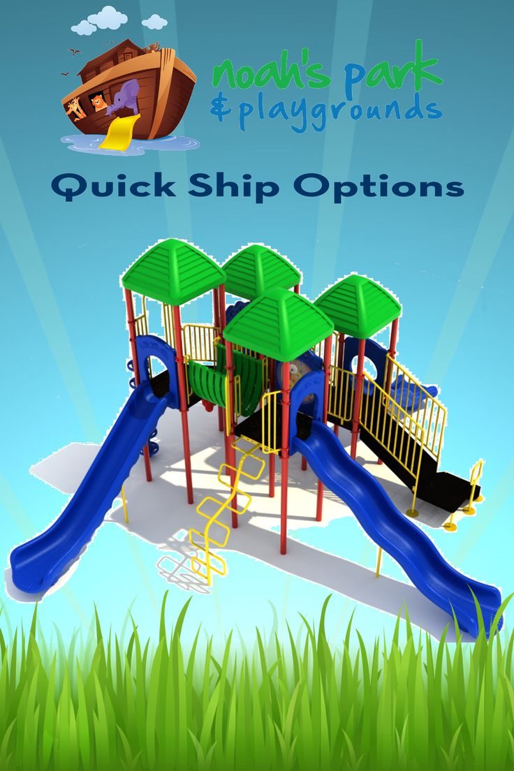 Until June 30th, 2016, Noah's Park & Playgrounds will be offering FREE SHIPPING on select Quick-Ship structures offered online. Not only will the equipment ship within 5-10 business days, you will also get it shipped for FREE!! That's right! Save BIG with Noah's Park & Playgrounds!   Click the image to see which Quick Ship Structures are a part of the FREE SHIPPING offer!