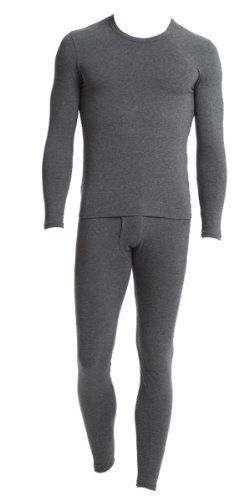 """Men's Thermal Top and Pants Set - Waffle Knit Material (Grey, Large) by J.A.Z.Z.. $17.99. Our Men's Thermal Underwear Set is an essential Winter need. It will keep you warm during your outdoor activities and even for sleeping, if you're cold at night.   Sizing Details  Small: Chest: 34/36"""", Pants: 28/30"""" Medium: Chest: 38/40"""", Pants: 32/34"""" Large: Chest: 42/44"""", Pants: 36/38"""" XL: Chest: 46/48"""", Pants: 40/42"""""""
