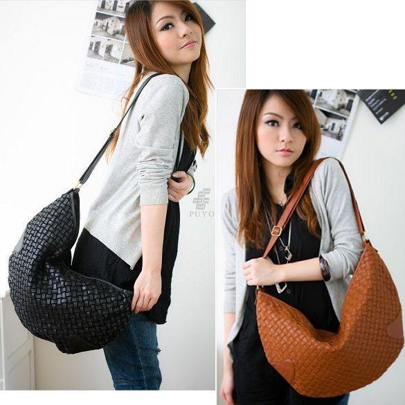 New Fashion Women's Leather Shoulder Bags Messenger Bags 2 Colors 3838