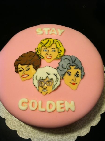 Golden Girls Birthday Cake