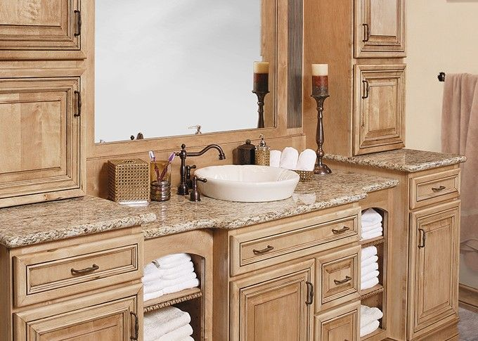 14 best bathroom design ideas images on pinterest bath for Lowes semi custom bathroom cabinets