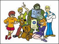 BBC NEWS | Entertainment | Scooby-Doo breaks cartoon record