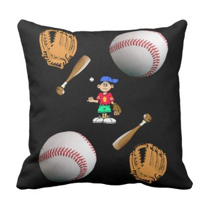 pillows baseball - vintage gifts retro ideas cyo