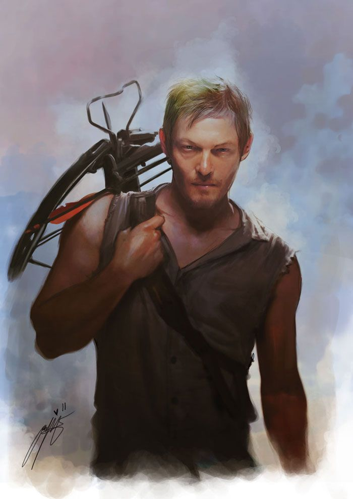 walking dead images darrell | Daryl Dixon - The Walking Dead by Brilcrist