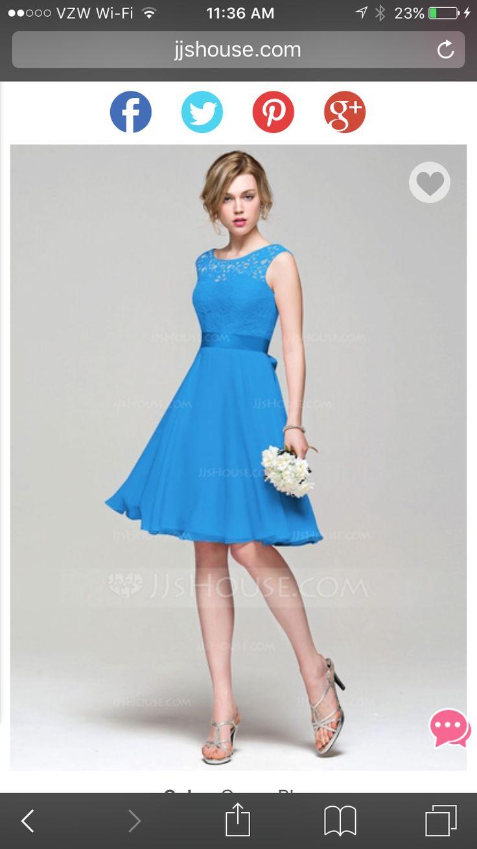 Atemberaubend Baby Blue Brautjunferkleider Billig Fotos ...