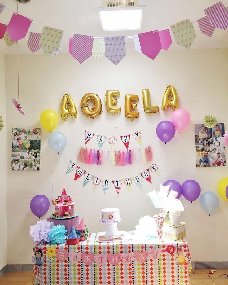 Dekorasi Ulang Tahun Anak Perempuan Terbaru Dekorasi Ultah Ulang Tahun Pinterest Birthday Party And Birthday Parties