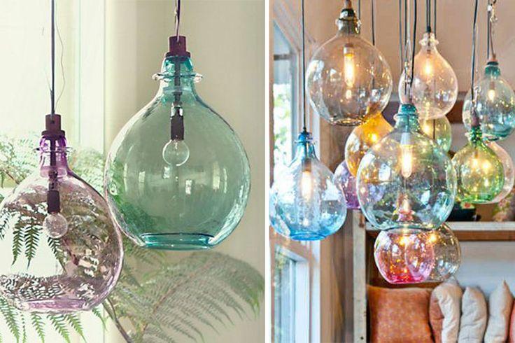 damajuanas el complemento perfecto para decorar. Black Bedroom Furniture Sets. Home Design Ideas