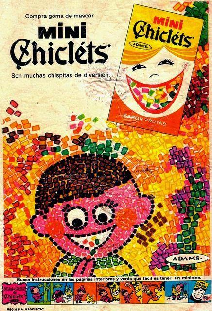 Se trataba de unas pequeñas bolsitas con unos diminutos chicles de colores que uno podía encontrar en las tienditas, Su sabor era caracterís...