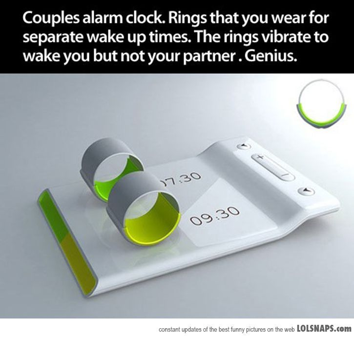 Couples Alarm Clock