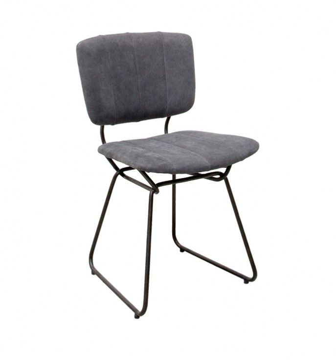dining chair iometro metal fabric dining chair inspireon