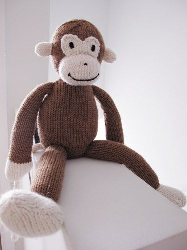 67 best images about Knitted Monkeys & Bears on Pinterest Free pattern,...