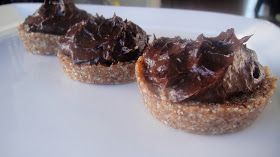 Mums in the Kitchen: Chocolate Tarts (with a twist!)