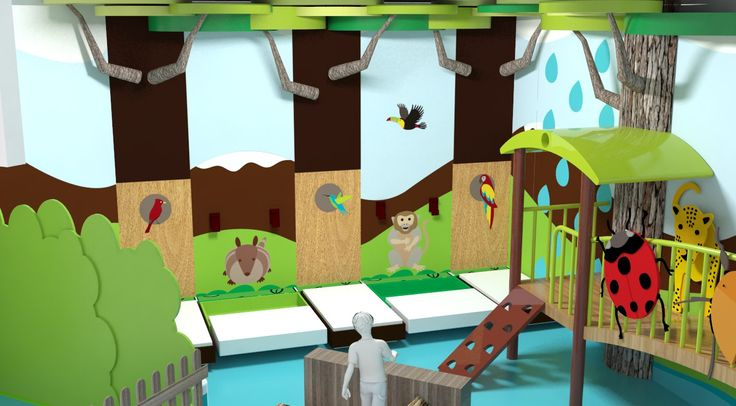Science centre project for children in Quito, Ecuador.   Contractor: Vpormil.  Illustrations and color keys. 2012