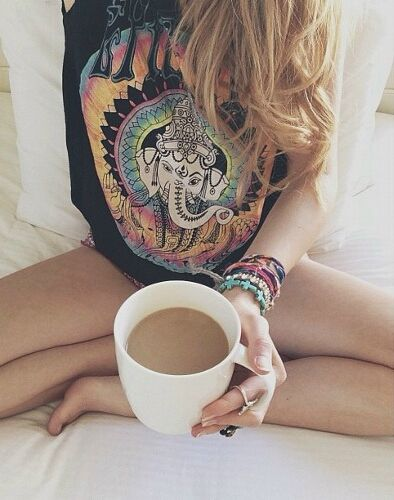 Boho Mojo/Bohemian Livinh/Free Spirit/Lazy Mornings/Hot Coco Over Tea For Me :) A Little Piece Of Happiness ♡