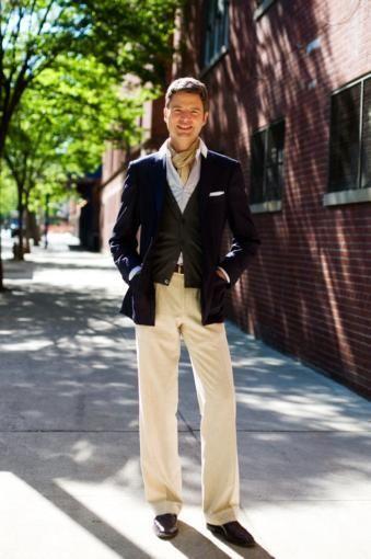 Мужские белые льняные брюки в спб