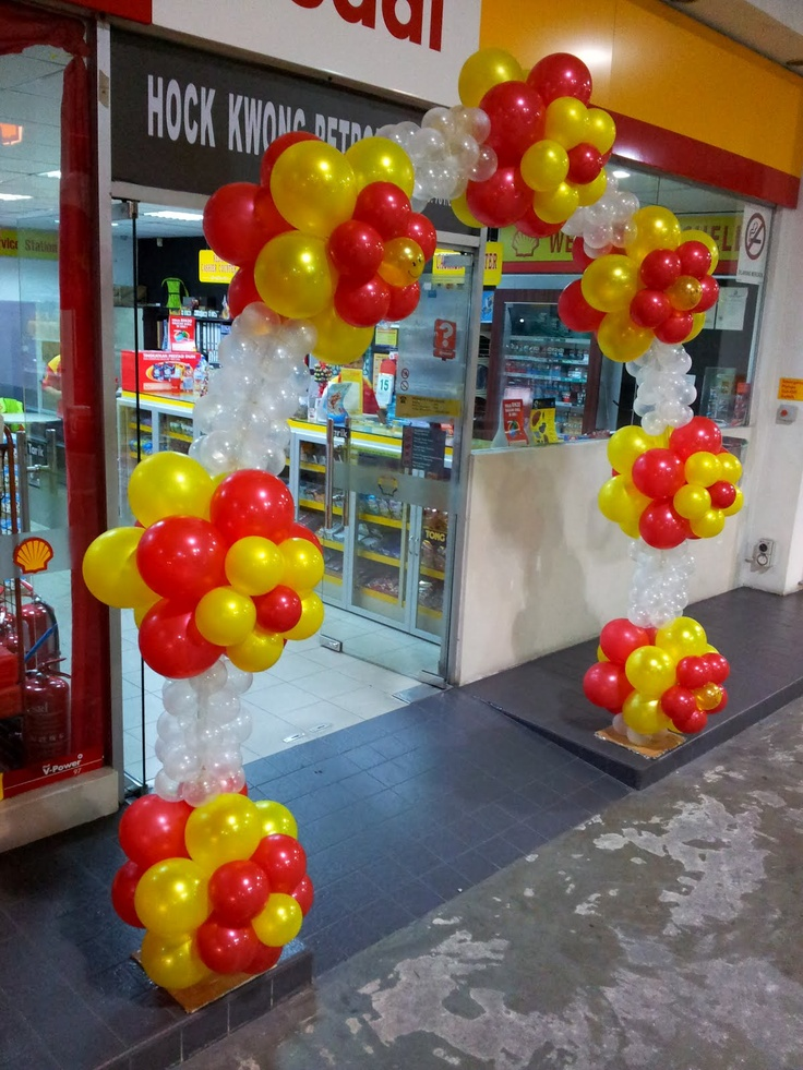 Balloon decorations for weddings, birthday parties, balloon sculptures in Kuching and Sibu, Sarawak: Corporate Events