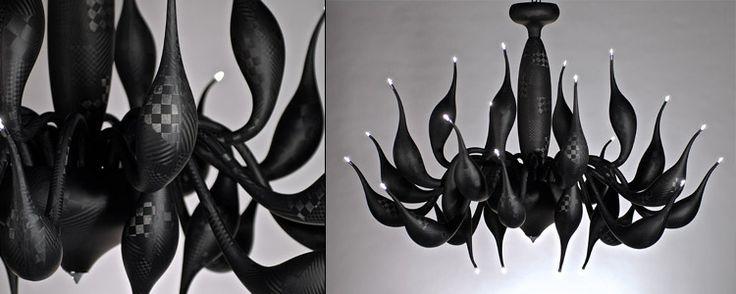 TechnoLUgy, the carbon fibre chandelier