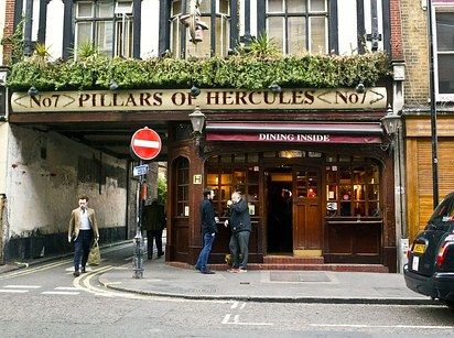 Pillars of Hercules | 12 Literary Spots In London That Every Book Lover Needs To Visit