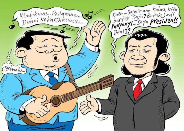 Mice Cartoon:  SBY For Singer!! (Harian Rakyat Merdeka, 21.11.2012)