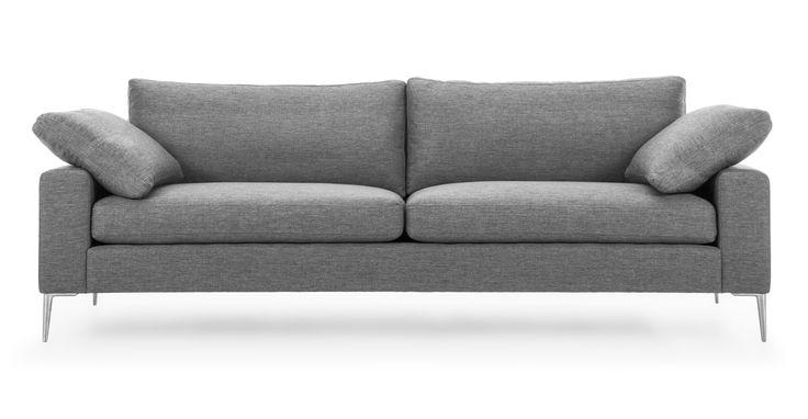 Nova Gravel Gray Sofa - Sofas & Ottomans - Bryght   Modern, Mid-Century and Scandinavian Furniture