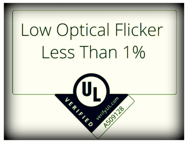 During our Impact of Flicker in Lighting webinar we asked our audience how important a #UL verification of low #flicker was. The results showed that over 85% of the audience believed UL flicker verified has value to their organization. Did you know that Energy Focus is the first U.S. LED manufacturer to be verified by UL to provide less than 1% flicker output?  #EndFlicker #WhatYouCantSeeCANHurtYou