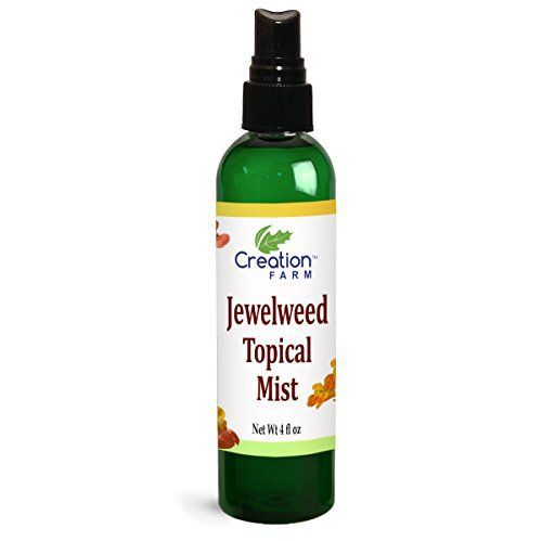 Product review for Jewelweed Topical Mist - Poison Ivy & Poison Oak, Bites, Swimmer's Itch, Niebla de Tópicos de Jewelweed Para Prurito, Picaduras de Insectos, Hiedra Venenosa  - Jewelweed flowers have been used for centuries as a folk remedy for Poison Ivy, Poison Oak, Bee Stings and Mosquito bites. Jewelweed Topical Mist – Poison Ivy & Poison Oak, Mosquito Bites, Swimmer's Itch, Niebla de Tópicos de Jewelweed Para Prurito, Picaduras de Insectos, Hiedra...