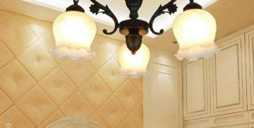 Retro ceiling lights Continental Iron chandelier restaurant lamps bedroom lighting fixtures living room retro lights