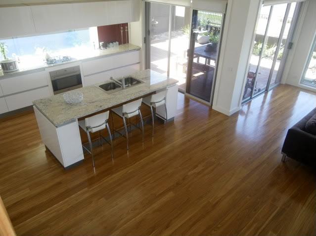 blackbutt flooring  house ideas  Kitchen flooring