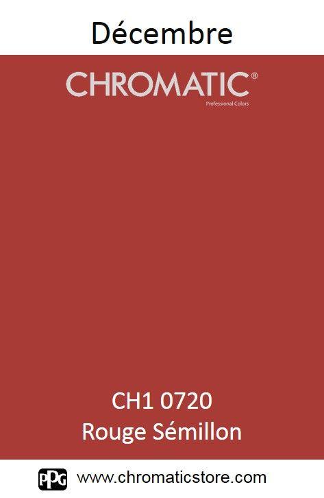 Finalisez votre projet #peinture avec le #Rouge Sémillon CH1 0720 en vous rendant dans l'un de nos points de vente partenaires. Trouvez votre distributeur sur www.chromaticstore.com