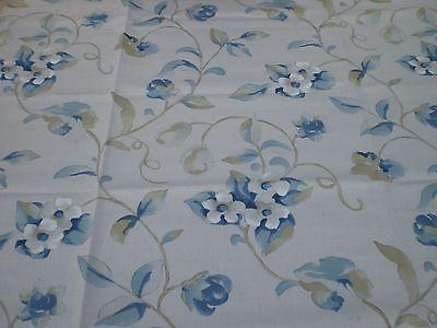 """Sanderson per tende in tessuto Remnant """"Orchard Blossom"""" 92 x 145 cm Misto Lino"""