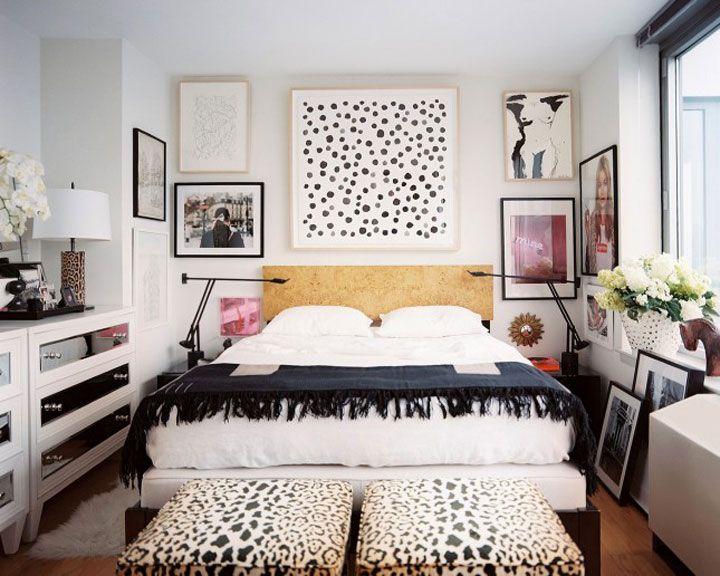 Schilderij Boven Het Bed Eclectische Slaapkamer Een Slaapkamer Inrichten Woonideeen