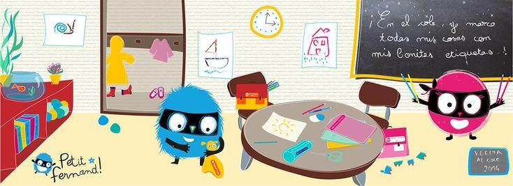 Petit Fernand | etichette termoadesive per bambini