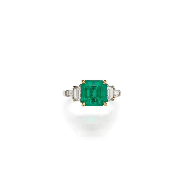 Buy online, view images and see past prices for EMERALD AND DIAMOND RING, TIFFANY & CO.. Invaluable is the world's largest marketplace for art, antiques, and collectibles.